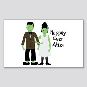 Happily Ever After Sticker (Rectangle)